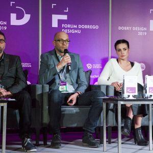 Design 4.0. - o innowacjach we wzornictwie na Forum Dobrego Designu. Jędrzej Stępniak