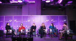 """O """"kobiecej"""" stronie designu, wkładzie kobiet w rozwój wzornictwa, a także o osiągnięciach i wyzwaniach, jakie stawia kobietom współczesny świat designu dyskutowały Panie w trakcie Forum Dobrego Designu."""