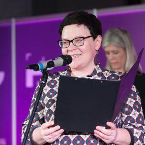 Justyna Łotowska, redaktor wydawnicza wydawnictwa Pubikator. Fot. Paweł Pawłowski