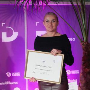 Dobry Design 2019: Aneta Janecka - współwłaściciel firmy A&K. Fot. Paweł Pawłowski