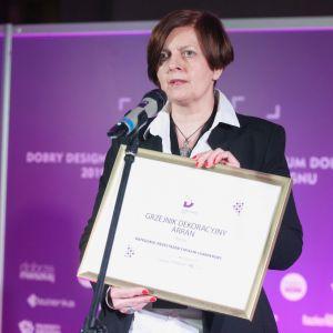 Dobry Design 2019: Emilia Dudek - Manager Marketingu w Regionie Wschód firmy Purmo. Fot. Paweł Pawłowski