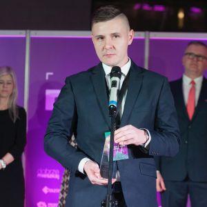 Dobry Design 2019:  Jacek Sitek, specjalista ds. klientów biznesowych firmy Kaczkan. Fot. Paweł Pawłowski