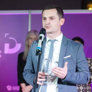 Dobry Design 2019: Maciej Brzozowski, Product Manager ds. Pokryć Dachowych firmy Wienerberger. Fot. Paweł Pawłowski