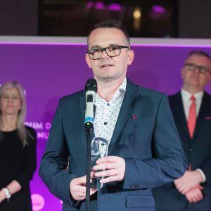 Dobry Design 2019: Radosław Sychowiec – właściciel firmy Mirad. Fot. Paweł Pawłowski