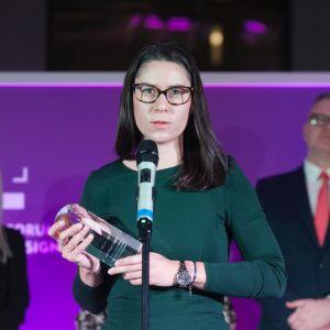 Dobry Design 2019:  Justyna Drogowska, Marketing & PR Manager firmy CAD Projekt K&A. Fot. Paweł Pawłowski
