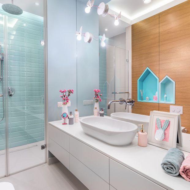 Łazienka dla dzieci - zobacz piękne, kolorowe wnętrze
