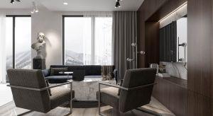 Apartament w Kijowie o powierzchni 55,5 m² zaprojektowano z dużym wyczuciem smaku i elegancji.