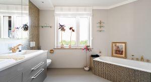 Klasyczna seria baterii umywalkowych sprzed 20 lat posłużyła za punkt wyjścia dla aranżacji całej łazienki. Pomieszczenie po remoncie zyskało urokliwy, orientalny klimat i nowe, funkcjonalne rozwiązania.