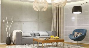 Pierwsze skojarzenie z betonem to zimne, industrialne, gołe wnętrza. Pozbawione domowego ciepła i przytulności. Nic bardziej mylnego!