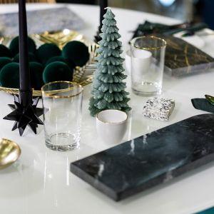 Święta w dobrym stylu: stół Darii Zawiałow. Fot. Domoteka