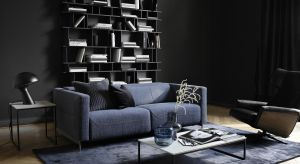 Wśród nowości na 2019 pojawiły się nowe modele sof, zaprojektowane w nowoczesnym, architektonicznym stylu.
