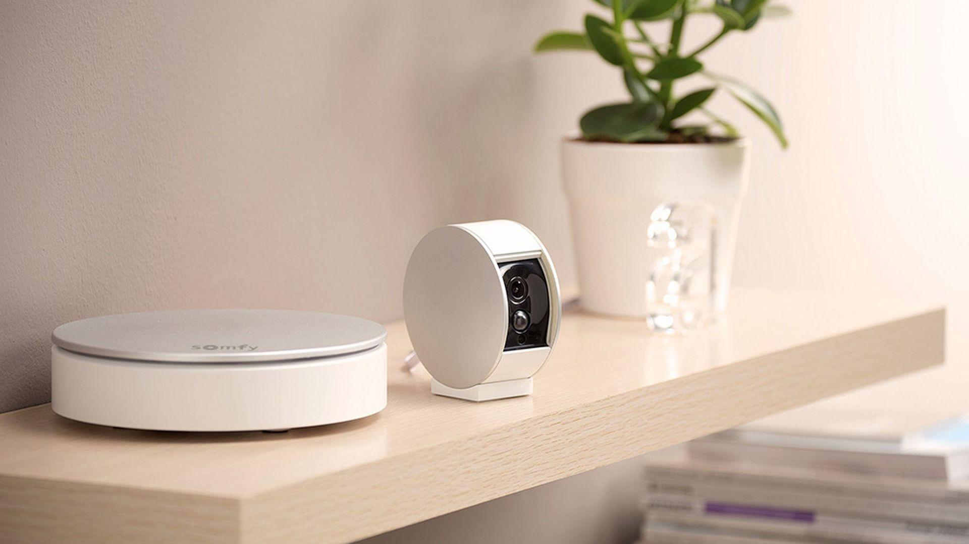 Kamera wewnętrzna/Somfy. Wyróżnienie w kategorii Nowoczesne Technologie