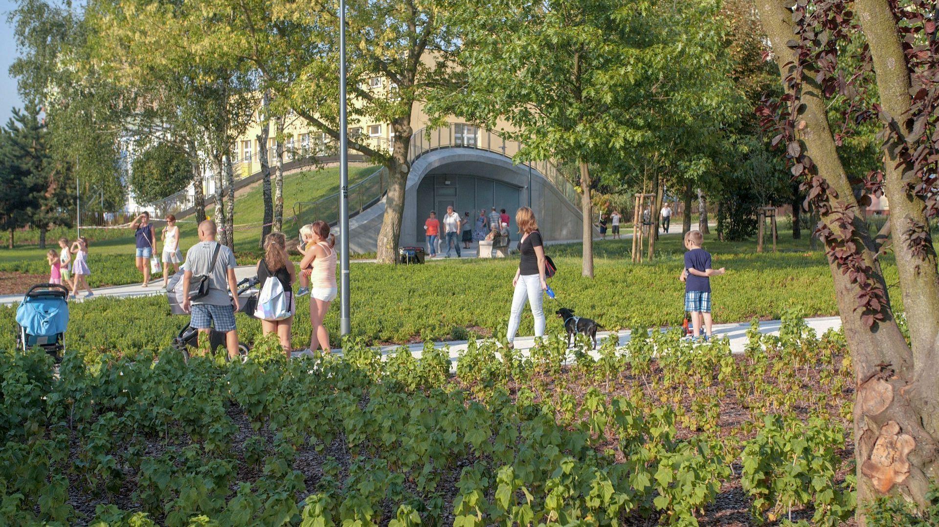 Toaleta publiczna w Płocku/Geberit. Wyróżnienie w kategorii Wętrza Publiczne