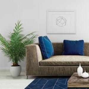 Marlin Indigo – dywan łatwoczyszczący by Carpet Decor/Fargotex. Wyróżnienie w kategorii Przestrzeń Pokoju Dziennego
