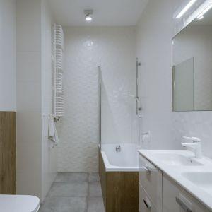 Łazienka dla rodziny. Projekt i zdjęcia: Małgorzata Górska-Niwińska, Pracownia Architektoniczna MGNnow