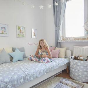Kompaktowy pokój Jagody, córki Moniki Mrozowskiej. Fot. Celestyna Król