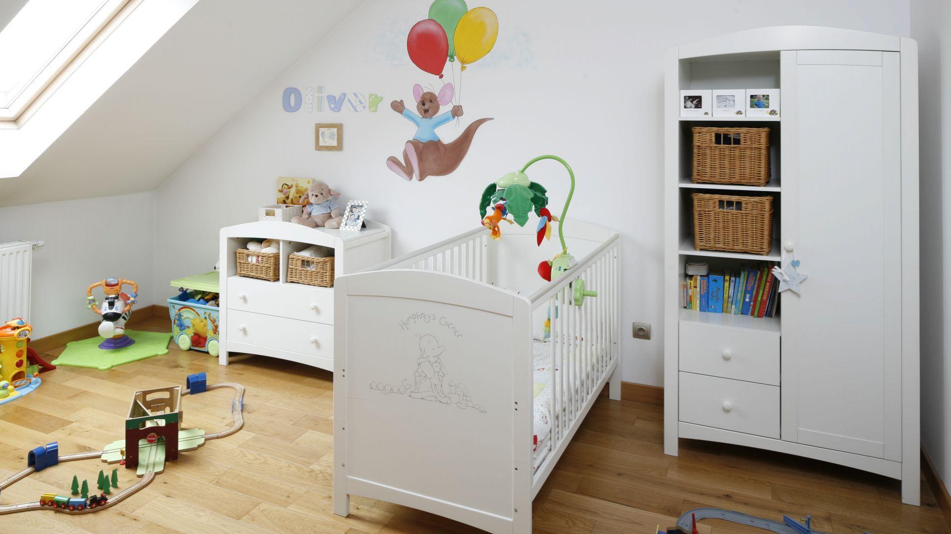 Pokój dziecka - pomysły z polskich domów. Projekt: Magdalena Biały. Fot. Bartosz Jarosz