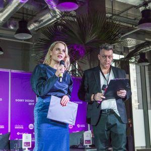 Anna Senkara i Robert Majkut - duet prowadzących dyskusję inaugurującą FDD 2018. Fot. Paweł Pawłowski/Marek Misiurewicz/PTWP