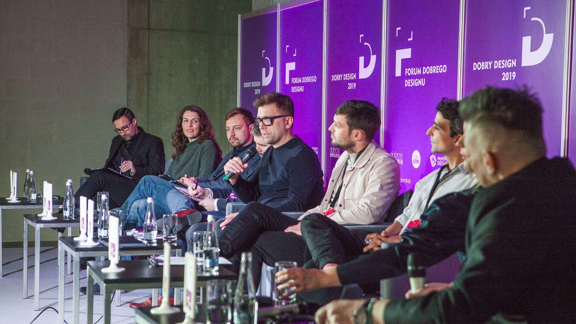 Sesja inaugurującą Forum Dobrego Designu 2018. Fot. Paweł Pawłowski/Marek Misiurewicz/PTWP