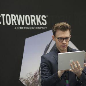 Stoisko marki Vectorworks. Fot. Paweł Pawłowski/PTWP