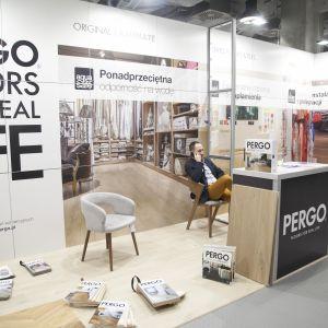 Stoisko Pergo - partnera głównego Forum Dobrego Designu. Fot. Paweł Pawłowski/PTWP