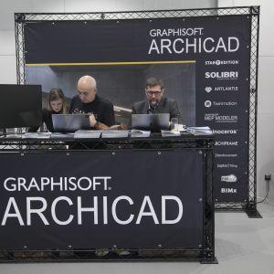 Graphisoft ArchiCAD - jeden  z partnerów FDD 2018. Fot. Paweł Pawłowski/PTWP