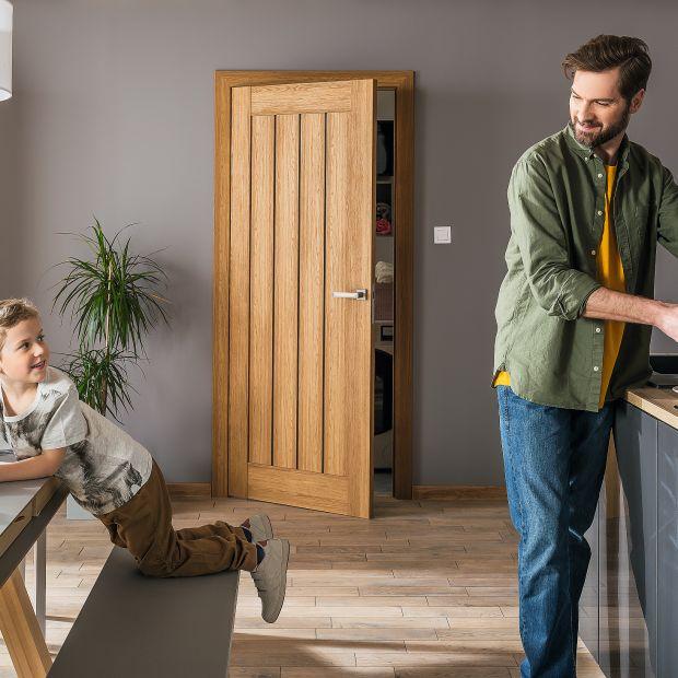 Drzwi do kuchni: zobaczcie piękne modele