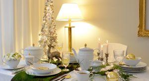 Co roku, kilka tygodni przed uroczystą kolacją wigilijną, szykujemy się do zakupu świeżej, pięknie pachnącej choinki, wyciągamy ze strychu świąteczne dekoracje i obmyślamy stołową aranżację. Biel i złoto to ponadczasowy świąteczny zesta