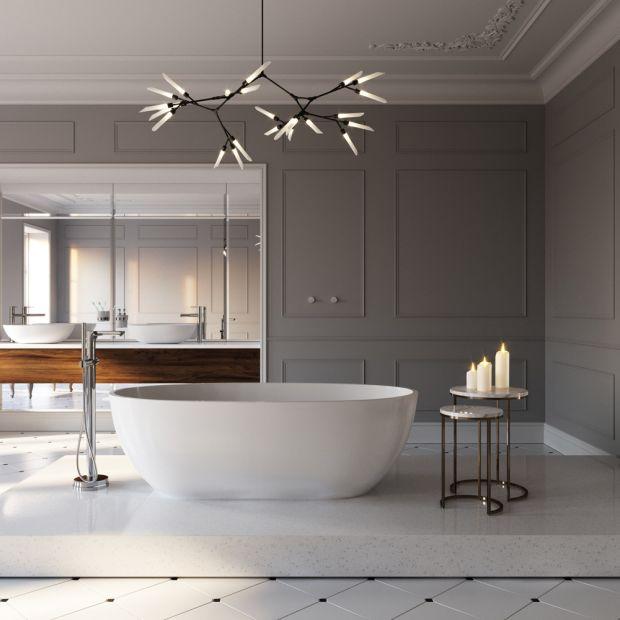 Nowoczesna łazienka - wybieramy baterie wannowe