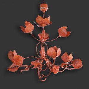 Energetyzujący Living Coral kolorem roku 2019. Na zdj.  lampa Leaves. Fot. Officinaciani