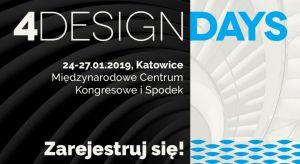 Zapraszamy na IV edycję 4 Design Days - jedynego w swoim rodzaju eventu poświęconego najnowszym trendom w architekturze i designie! Już dziś zarezerwuj termin 24-27 stycznia 2019 i zarejestruj się na wydarzenie!