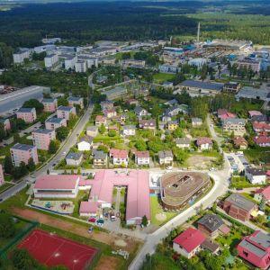Przedszkole w Kleszczówce, Żory, Toprojekt. Frustrację budzi fakt, że wnętrza nie zostały zrealizowane zgodnie z oryginalnym projektem. Fot. materiały prasowe