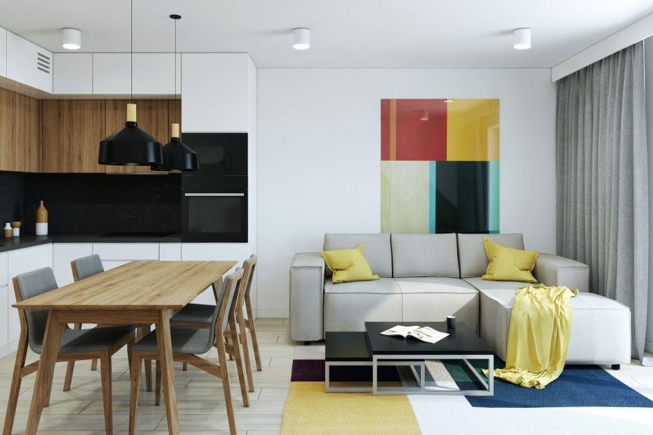 Nowoczesne mieszkanie dla rodziny: tak możesz urządzić 70 metrów