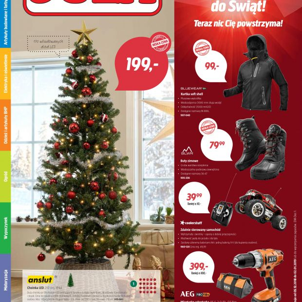 JULA: aktualna gazetka z promocjami świątecznymi