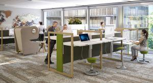 Architekci przestrzeni biurowych zwracają uwagę na odpowiednią aranżację otoczenia, bo fizyczne i zmysłowe doświadczenia z miejsca pracy mogą skutecznie wzmacniać lub osłabiać efektywność pracowników.Jedną z innowacji są wielofunkcyjne biu