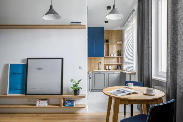 Małe mieszkanie - zobacz przytulne i funkcjonalne wnętrze
