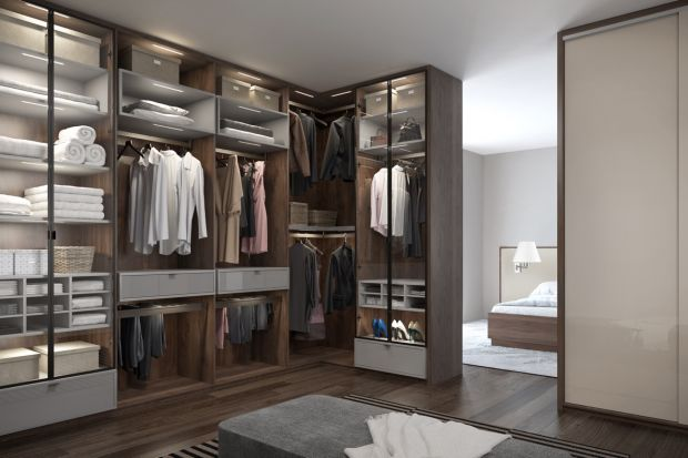 Wygodna garderoba: tak możesz ją zaprojektować