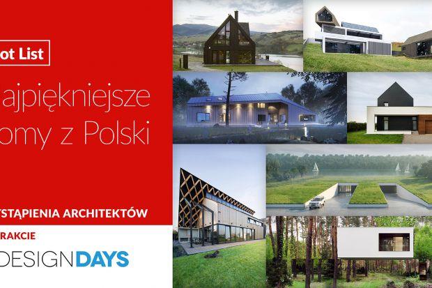 W trakcie 4DD 2019 zapraszamy na wystąpienia topowych polskich architektów, którzy opowiedzą o najbardziej spektakularnych realizacjach domów realizacji i projektów ostatnich lat.