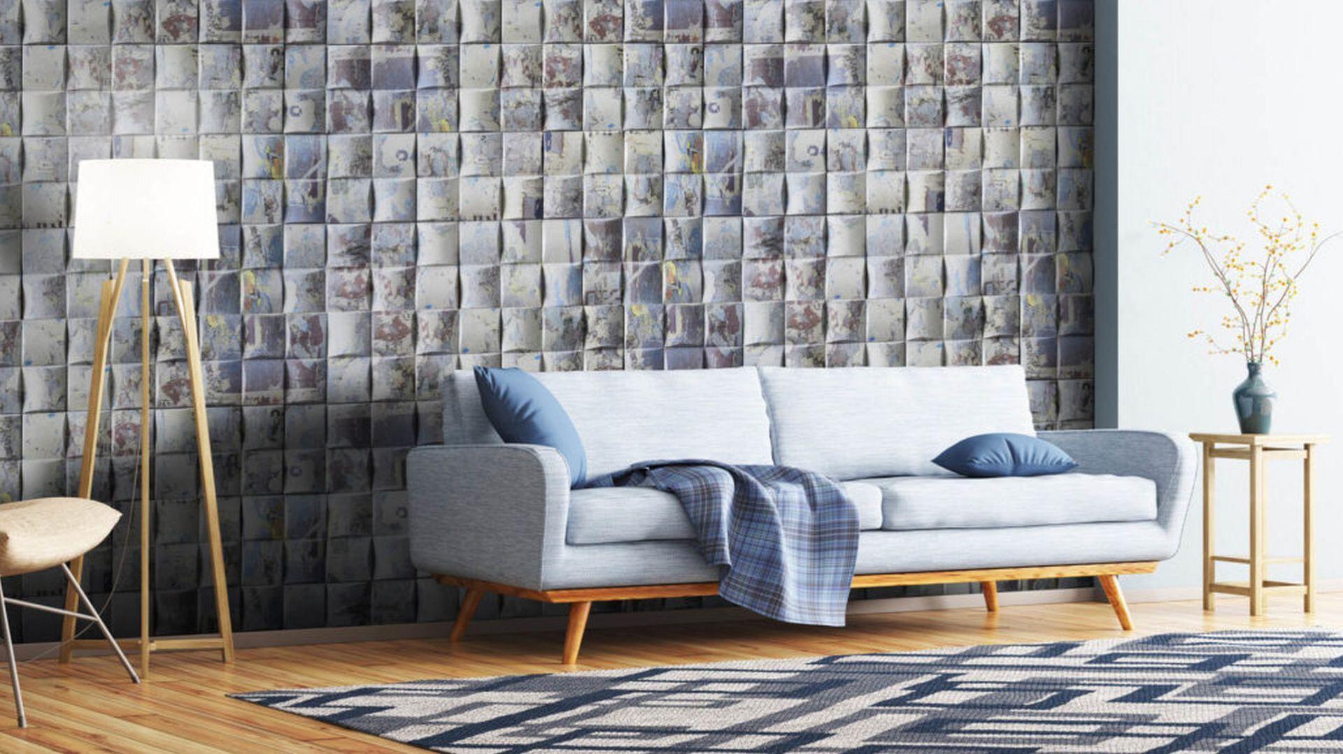 Kamień dekoracyjny Graffiti stanowi idealne rozwiązanie do wykończenia nowoczesnych aranżacji przestrzeni w stylu loftowym czy wnętrz młodzieżowych, podkreślając takie cechy jak osobowość, energia, świeżość, nieszablonowość i odwaga. Fot. Stone Master