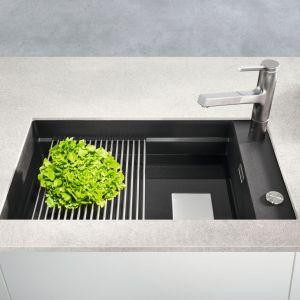 Nowoczesna kuchnia - aranżacja strefy zmywania. Fot. Franke