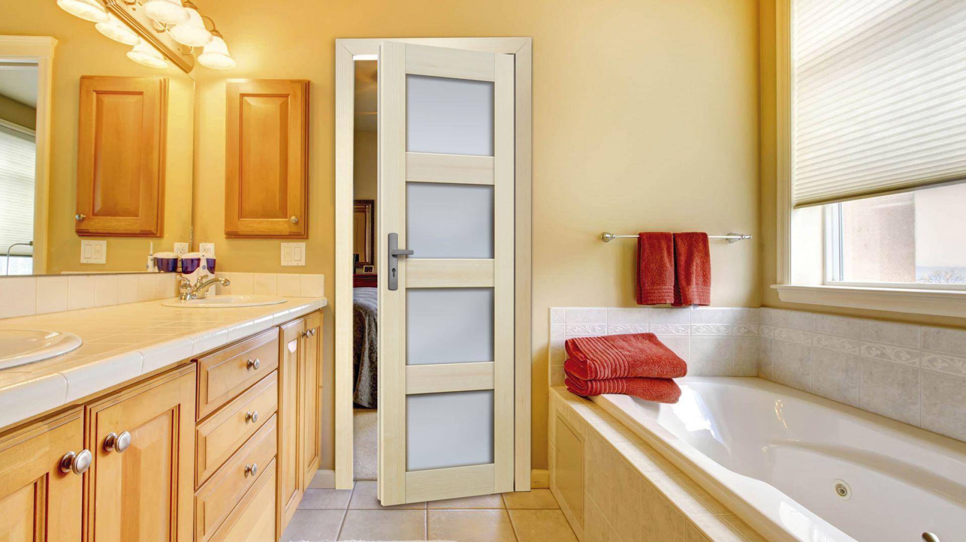 Drzwi łazienkowe Premium Nefryt Radex. Fot. 4iQ