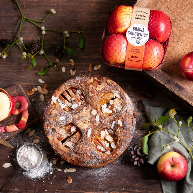 Przepis na święta - jabłka w korzennym cieście