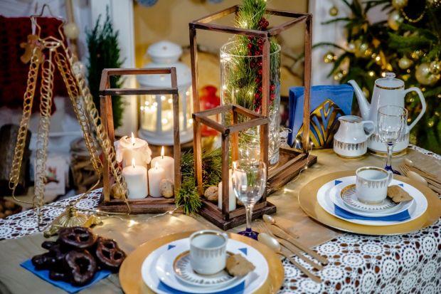 Lampiony na świąteczny stół - zrób je sam!