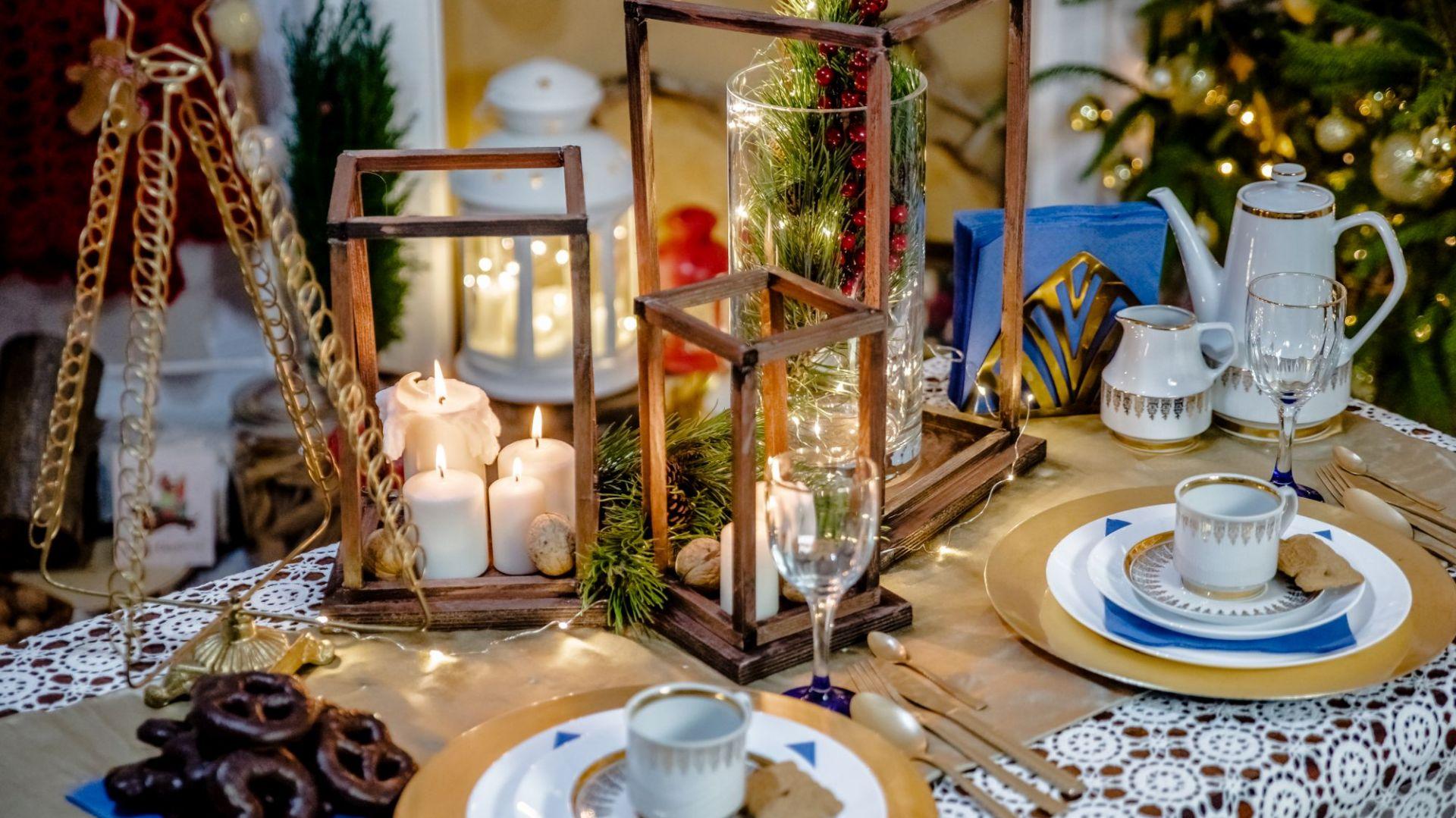 Tak przygotowane lampiony będą cudowną ozdobą Twojego stołu. Fot. Bosch