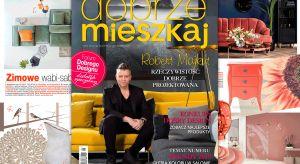 Gwiazdą najnowszego wydania Dobrze Mieszkaj jest Robert Majkut – wizjoner, designer, ekspert w projektowaniu dla biznesu. Polecamy wywiad ze znanym polskim projektantem oraz sesję zdjęciową zrealizowaną w zaprojektowanej przez niego przestrzeni.