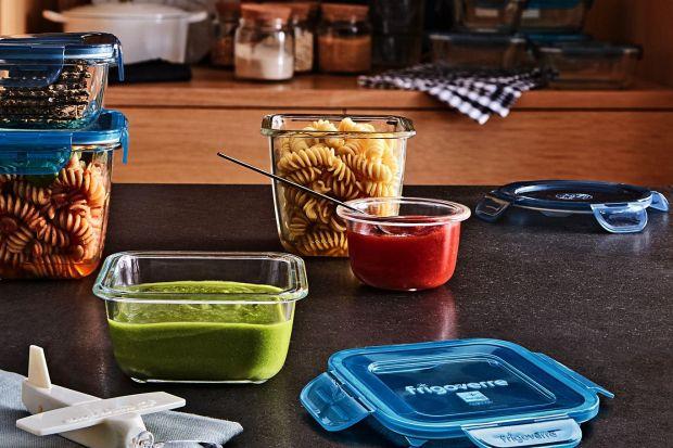 Przechowuj - nie wyrzucaj!  Praktyczne pojemniki do kuchni