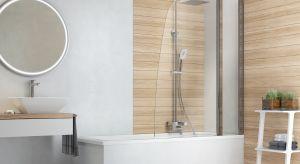 Minimalistyczne, gładkie powierzchnie, szkło, drewno i błyszczący chrom nigdy nie wyjdą z mody. Z połączenia tych materiałów stworzymy łazienkę jednocześnie elegancką i subtelną.