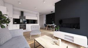 Niewielkie (35 m kw.), nowoczesne mieszkanie w Poznaniu przeznaczone jest na wynajem. Projekt wnętrza opierał się na trzech podstawowych założeniach: miało być funkcjonalnie, nowocześnie i uniwersalnie.