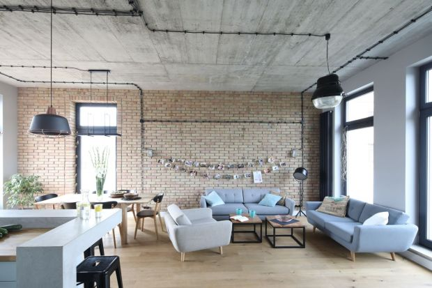 Mieszkanie w stylu loft - wnętrze z charakterem
