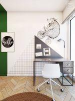 Mieszkanie dla rodziny, 110 m kw. Projekt i wizualizacje: Edycja Edyta Stań